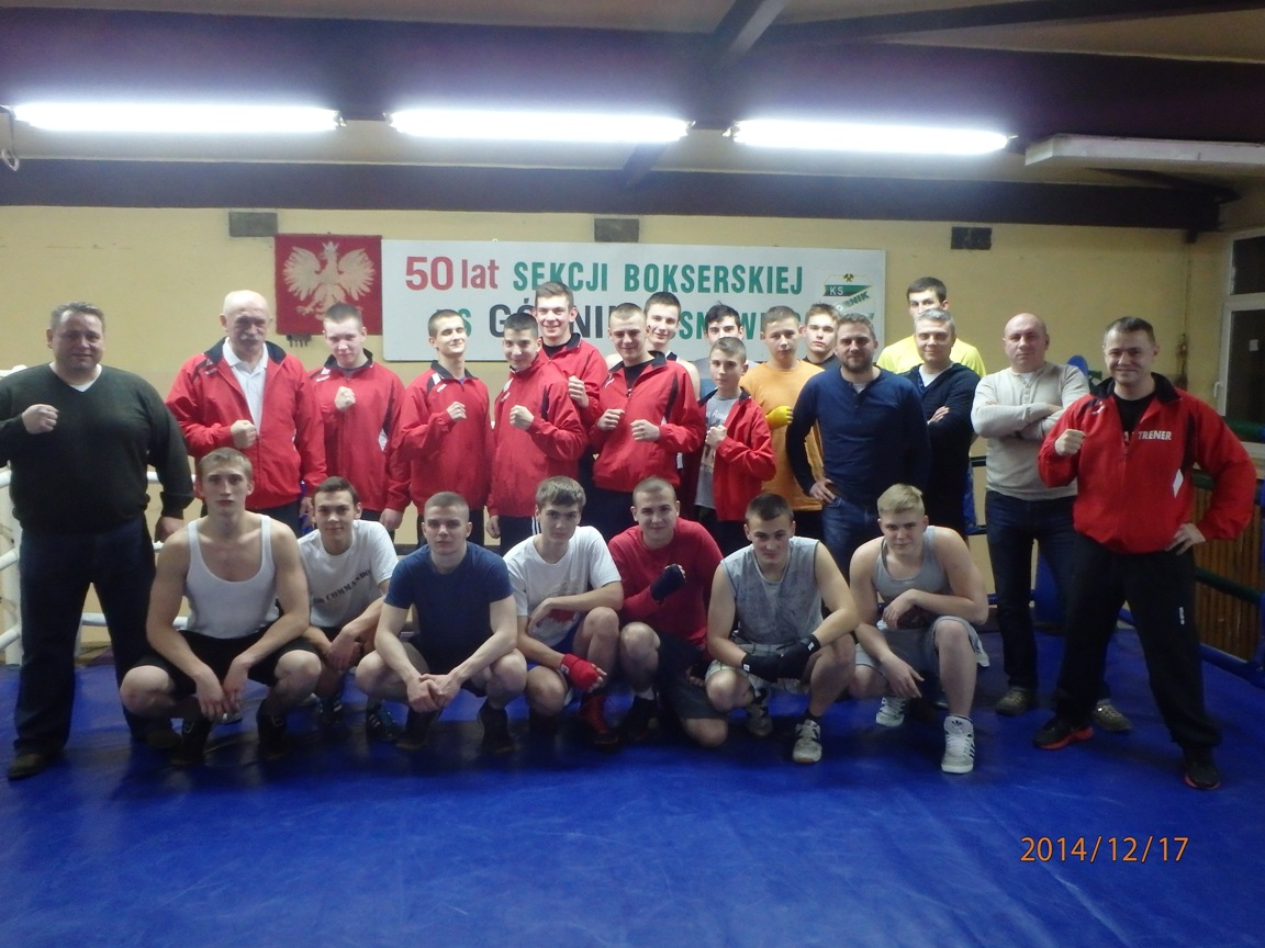 Sekcja bokserska - KS Górnik Sosnowiec